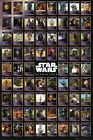 New Star Wars Character Card Compilation Poster