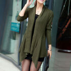XD0022 Girl's knit sweater coat Girl knitwear New Long-sleeved shawl cardigan