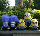 Despicable Me 2 Plush Toy Yellow & Evil Minion Soft Cuddly Stuffed Animal Doll