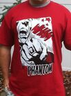 RED PHANTOM action panel t-shirt  licensed by King Features NEW various sizes