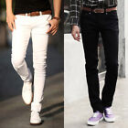 CLEARANCE SALE Stylish Men Slim Long Casual Straight Pants Skinny Jeans Trousers