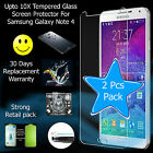 Upto 10X 9H 0.33 mm 2.5 D Tempered Glass Screen Protector Samsung Galaxy Note 4