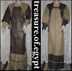 New Egypt Islamic Handmade glossy Cotton Abaya Kaftan jilbab Dress With Pockets