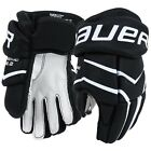 "NEW Bauer Ice Hockey Supreme One.2 Youth 8"" 9"" Gloves Nash Palm Black/White"