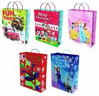 DISNEY CHARACTER CHRISTMAS (XMAS) GIANT JUMBO GIFT BAG - Range of Designs