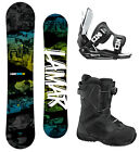Lamar VIPER 154 Snowboard+2014 FLOW Flite Bindings+2014 Flow BOA Boots NEW