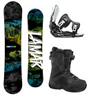 Lamar VIPER 151 Snowboard+2014 FLOW Flite Bindings+2014 Flow BOA Boots NEW