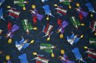 ZOMBIE ,WIZARD,STAR WARS, STAR WARS 111 & STAR TREK FABRIC FAT QUARTERS  FABRIC