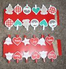 Christmas card holder with 12 pegs and twine, choice of designs, great quality