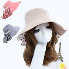 Women's fashion anti- UV Foldable large brimmed hat Beach Hat YH0078