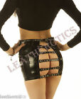 Real Leather tight fit SKIRT DOMINATRIX HOT SPANKING buckled 4 6 8 10 12 14 sk21