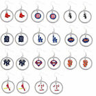 floating hoop dangle earring MLB PICK YOUR TEAM on Ebay