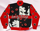 Sexy Kisses Hollywood Betty Boop Twill Ladies Jacket Black/Red Retail $130