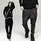 Stylish Mens Casual Hip-hop Jogger Sportwear Baggy Harem Loose Pants Trousers