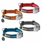 Ruffwear Top Rope Dog Collar Reflective Weighted Durable Reflective NEW