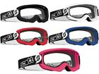 Scott Agent Goggles Pee Wee Ages 3-6 Year Old Youth Kids Childs Dirt Bike ATV MX