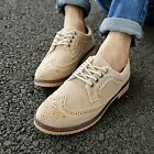 New Mens Boys Lace Up Flat Brogue Leisure Desert Ankle Boots Shoes Size Hot