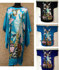 Hot Sale Women's Hand-Made Painted Kaftan Robe Gown Kimono Bathrobe Sleepwear