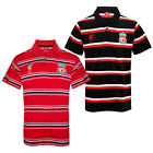 Liverpool FC Official Football Gift Mens Striped Polo Shirt (RRP £29.99!)
