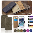 FLIP WALLET LEATHER CASE COVER STAND For APPLE IPHONE 5 5S FREE SCREEN PROTECTOR