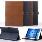 Luxury Ultra-thin Leather Retro Smart Stand Case Cover for ipad Air2 ipad 6 New