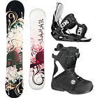 2014 Lamar ROSE 141 Womens Snowboard+FLOW Bindings+FLOW Vega BOA Boots NEW