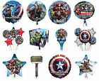 MARVEL COMICS Helium FOIL BALLOONS (Birthday/Party/Decoration/Inflate-a-Fun)