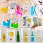 "Fashion Hard Transparent Liquid Dynamic Back Case for iPhone 6 4.7""/6 Plus 5.5"""