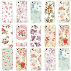 New Fashion Various Flower Patterned Back Case Cover for Apple iPhone 5 5S 6