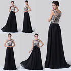 2015 Sexy Long Applique Evening Prom Party Cocktail Dress Wedding Ballgown Dress