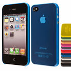 Apple iPhone 4 4S 5 5S 6 6+ slim case schutz hülle handy tasche cover ultra thin
