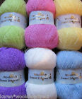 100g BALLS OF WOOLCRAFT SWEET DREAMS SOFT DK DOUBLE KNITTING BABY WOOL/YARN