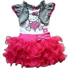 New Baby Girl False two-piece short sleeve party princess dress 1-6y