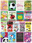 8 PARTY INVITATIONS with Envelopes - Range of DESIGNS THEMES (Birthday Supplies)