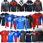 Collection! Marvel Comic Superhero Avenger Costume Jogger Tops T-shirt / Hoodies