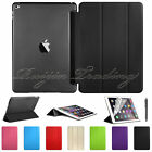 Smart Cover + Hard Back Case for New Apple iPad 6 iPad Air 2 2014 Air2