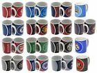 OFFICIAL FOOTBALL CLUB - MUGS (Ceramic) Bullseye/Crest (New/Gift/Xmas/Present)