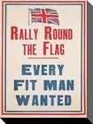 Imperial War Museum Rally Round The Flag! Canvas Print 30x40cm