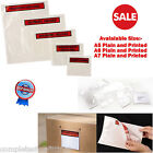 NEW 50 100 500 1000 A5 A6 A7 DOCUMENTS ENCLOSED PRINTED/PLAIN WALLETS ENVELOPES