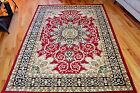 RUGS AREA RUGS CARPETS PERSIAN ORIENTAL FLOOR LARGE RED FLORAL COOL 5x7 RUGS NEW