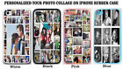 PERSONALIZED PHOTO COLLAGE CASE COVER FOR IPHONE XS Max XR X 8 7 6 CUSTOM IMAGE