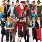 NEW MENS ADULT LICENSED BOOK DAY TV FILM CHARACTER OFFICIAL FANCY DRESS COSTUME