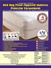 Free Pillow cover Lab Certified Bedbug proof mattress  protector  Anti Allergy