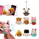 San-X Cosplay Mascot Cell Phone iPad Strap + Screen Cleaner 7 Choice: Rilakkuma
