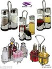 Cruets & Condiments Sets, Salt Pepper Oil Vinegar Sets Oil Bottles Salt Bottle