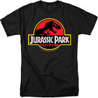Jurassic Park Classic Movie Logo Licensed Adult Shirt S-5XL