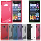 Gel Skin S-Line Silicone TPU Case Cover Shell Protecor for Nokia Lumia 730 735