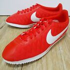 Nike Classic Cortez Nylon Red Diamond Check Mens Casual Shoes with diecoloration