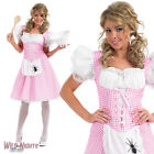LADIES LONGER LENGTH MISS MUFFET BOOK WEEK STORYTIME FANCY DRESS COSTUME