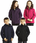 Regatta Westburn II Kids Waterproof Jacket School Coat Girls Boys RKP117